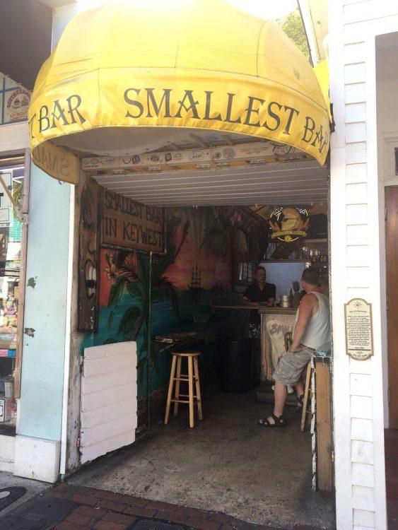 De kleinste bar ter wereld