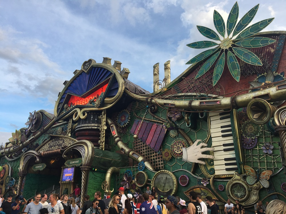 Tomorrowland Freedom Stage