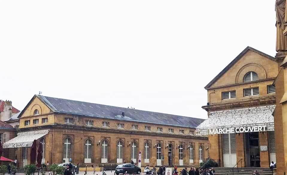 Metz Marché Couvert Casa Borita
