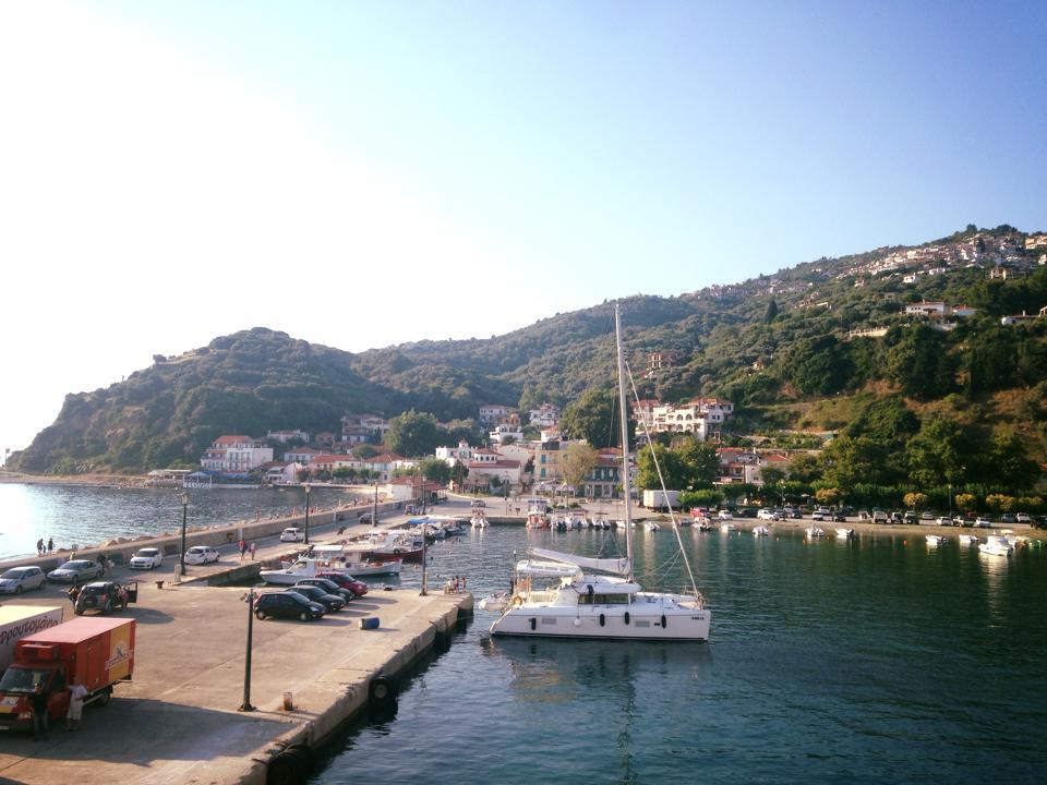 Maar eerst nog een stop in Skopelos, het andere Mamma Mia eiland