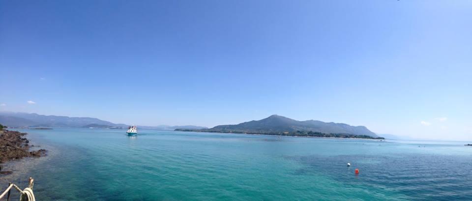 Met de ferry naar Lichadonisia