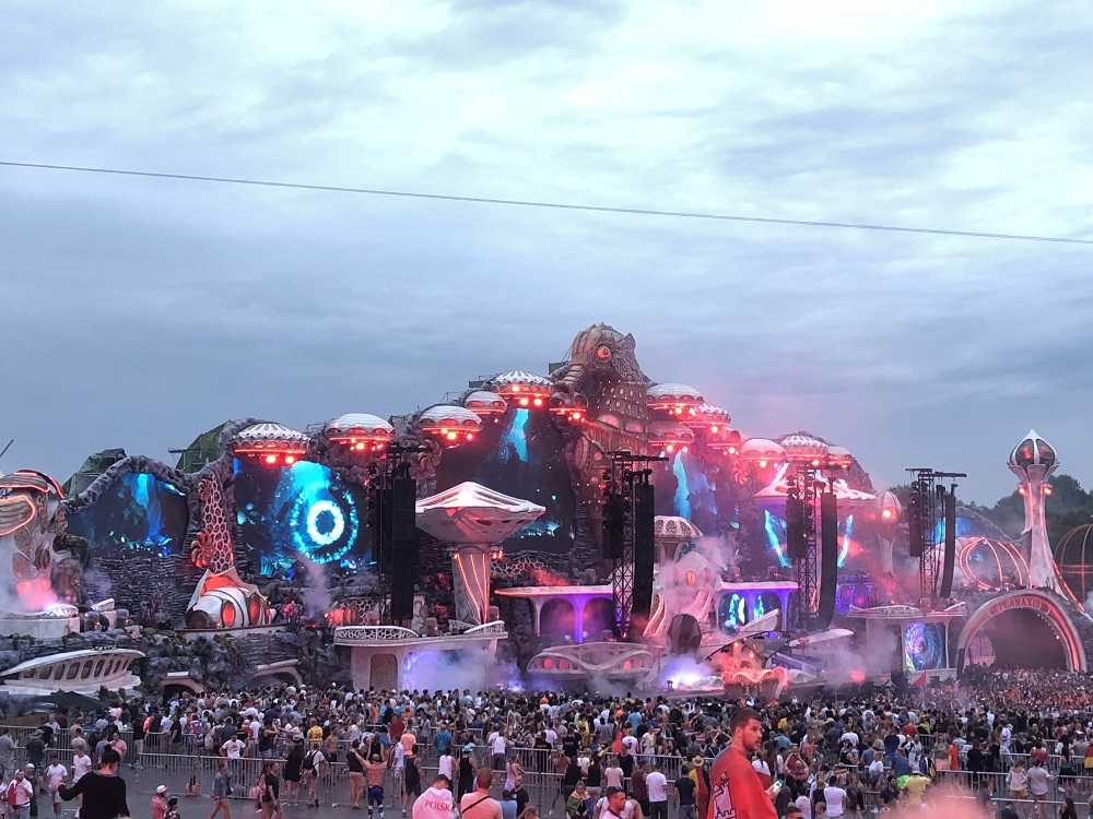 Netsky at the mainstage