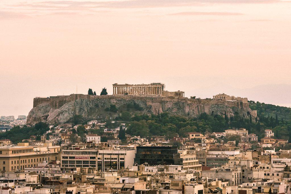 Acropolis Athens Casa Borita