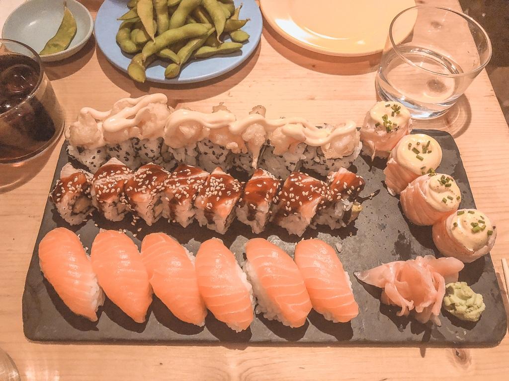 Koi Sushi Bar Athens Casa Borita