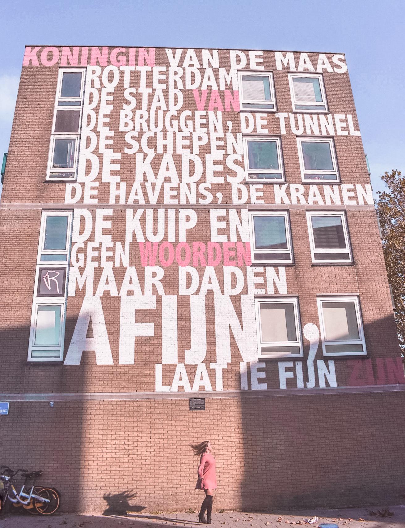 Rotterdam Street Art Tarwewijk Casa Borita