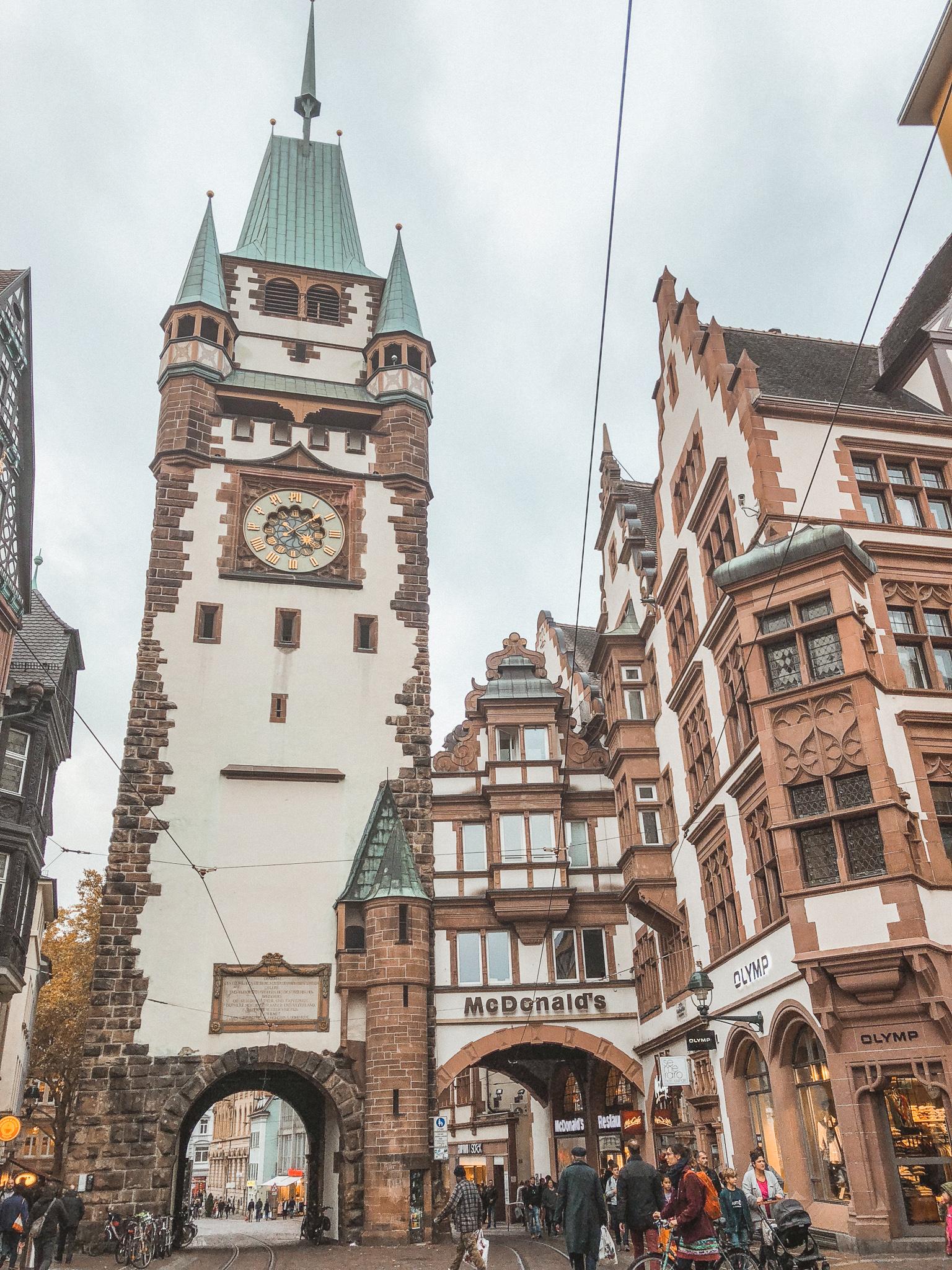 Freiburg Martinstor Casa Borita