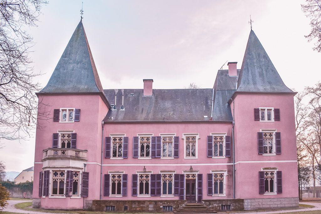 Pink Castle Luxembourg Erpeldange Casa Borita