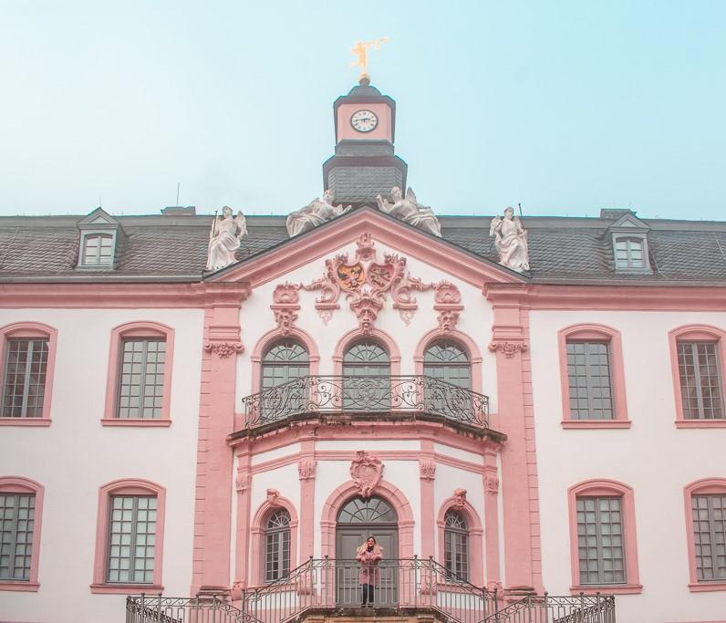 Schloss Weilerbach Germany Pink Castle Casa Borita