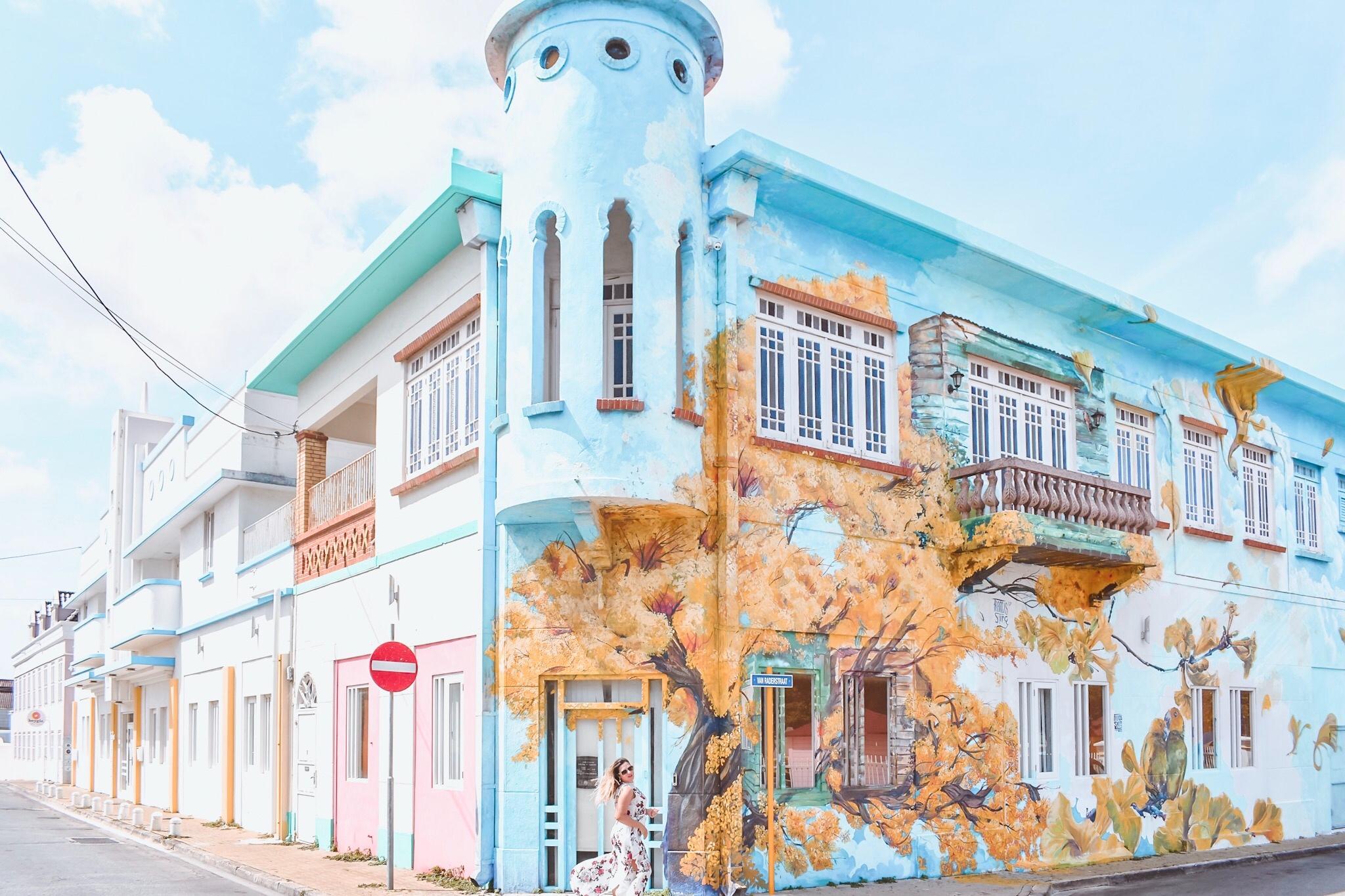 Curaçao Willemstad Schaarloo street art