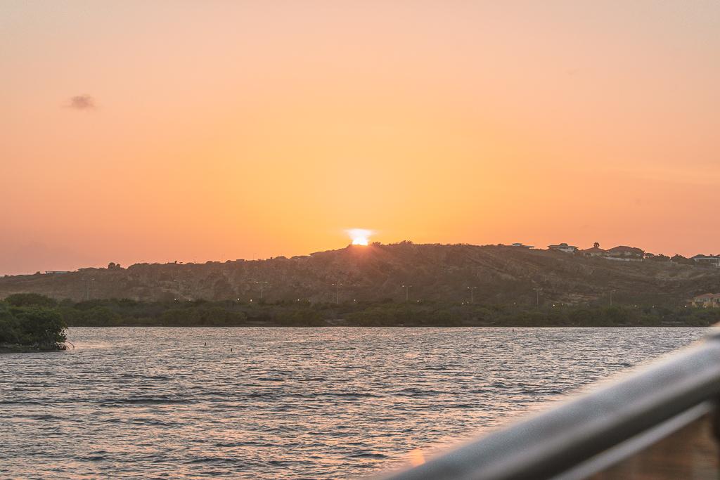 Curaçao Spanish Water sunset