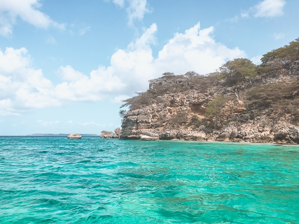 Curaçao coast Powerboat Caribbean
