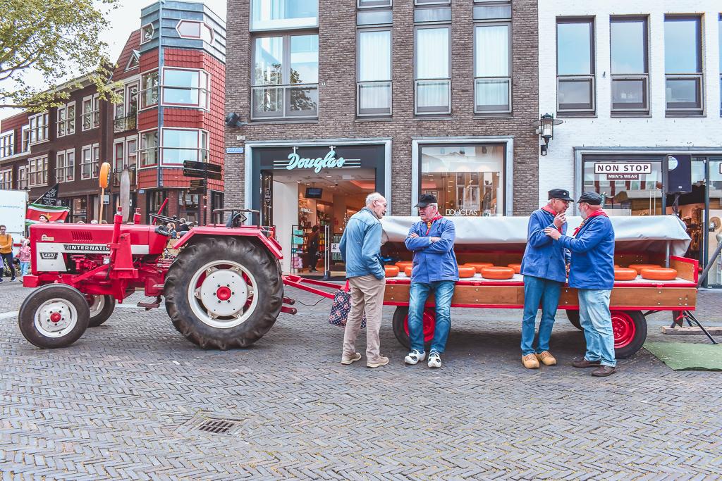 Boerenmarktstad Woerden Kaasmarkt