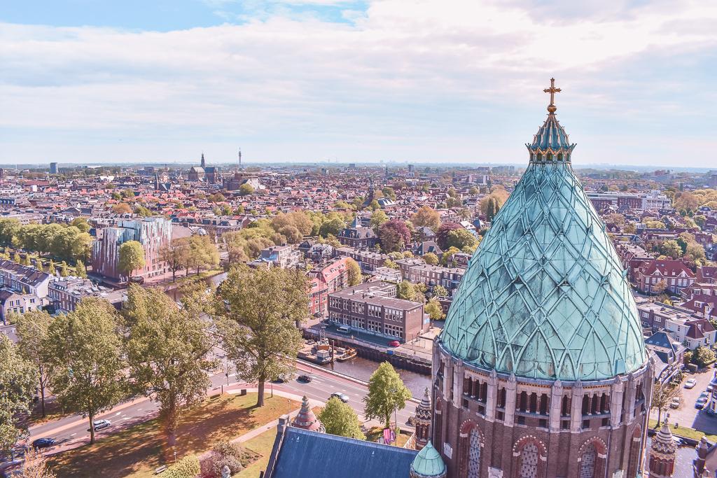 Klim naar het licht Koepelkathedraal Haarlem