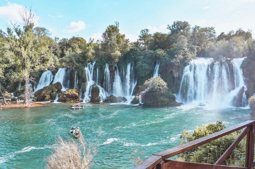 Kravica watervallen Bosnië en Herzegovina