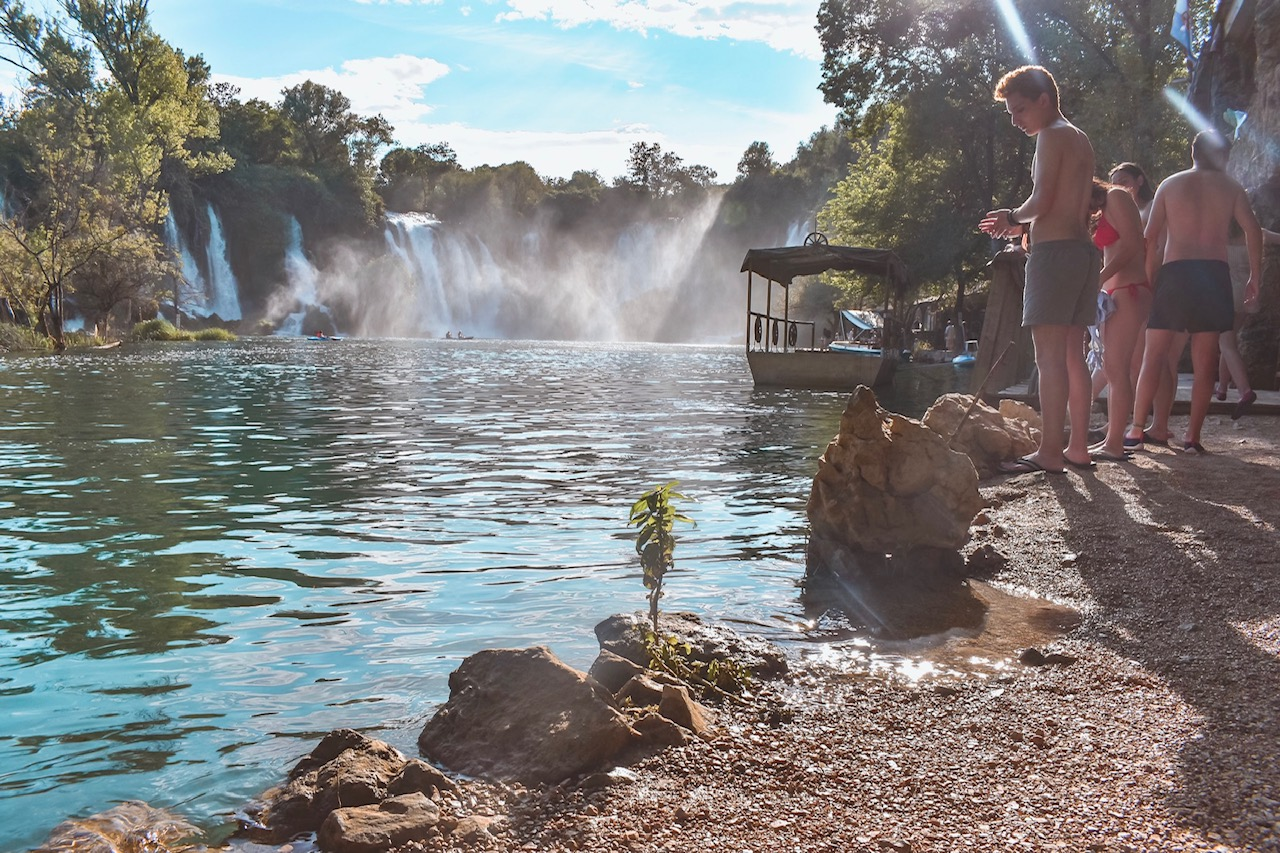 Kravica waterfalls Bosnia & Herzegovina